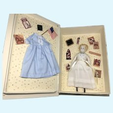 China Head Doll Dolly in ABC Presentation Box UFDC Convention Doll Artist Rosemarie Snyder