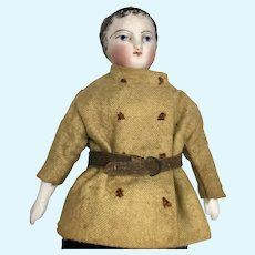 Antique French Bisque Gentleman Fashion Doll