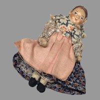 Vintage Russian Soviet Union Lady Doll