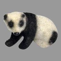 Miniature German Panda Bear Vintage Dollhouse Doll Friend
