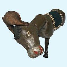 Schoenhut All Wood Antique Doll Size Donkey