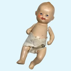 Cute German All Bisque Baby Doll