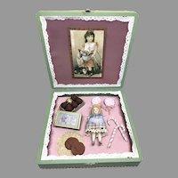 Beautiful Presentation Candy Box Artist Doll by Sandra Wright Justiss