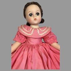 Beautiful Vintage Madame Alexander Hard Plastic Lissy Doll All Original