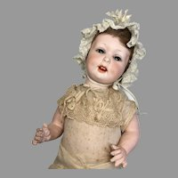 Adorable Bisque Character Doll Antique 590 A.M. Baby
