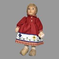 Lovely Kathe Kruse All Original Wrist Tag Vintage Hanne Kruse Doll