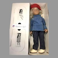 Sasha Doll in Original Box Blonde Sailing Suit England
