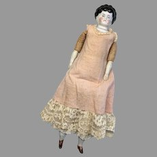 Pet Name Dorothy Antique China Doll German Molded Blouse