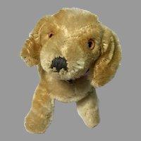 Cute Vintage Mohair Miniature Dog Doll Companion