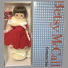 NRFB Betsy McCall Has a Happy Holiday MIB Toner All Original