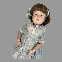 """15"""" Wood Spring Jointed Schoenhut Antique Doll"""