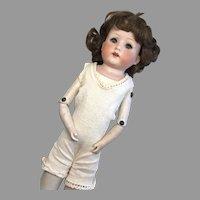Antique German Bisque Head Heubach Doll