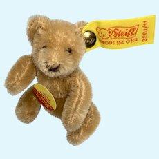 Miniature Steiff Doll Dollhouse Size Teddy Bear