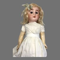 Pretty French Bisque Head Doll