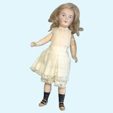 Closed Mouth Bisque Belton Type German Antique Doll