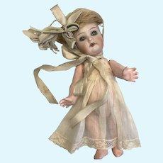 "Tiny 6"" K*R Simon Halbig 126 Toddler Antique Doll"