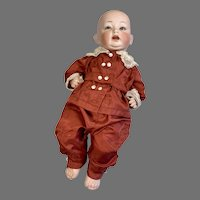 German Bisque Head Character Baby Doll 152 Project Doll