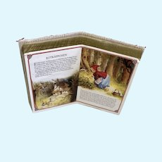 Rotkappchen German Little Red Riding Hood Miniature Doll Dollhouse Book