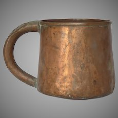 Copper Measuring Cup Scoop Handles Bucket From early 1900s France