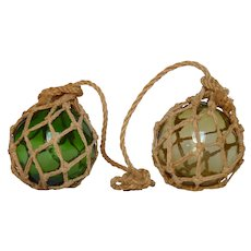Blown Glass Fishing Net Floats - Spherical Fishing Floaters