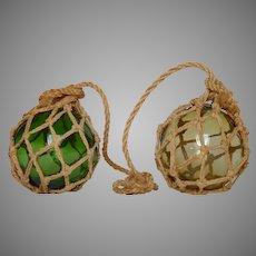 Blown Glass Fishing Net Floats - Spherical Fishing Floaters
