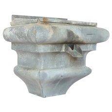 French Gutter Fixture -made of Zinc