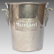 French Champagne / Ice Bucket / Pail / MORLANT Champagne House