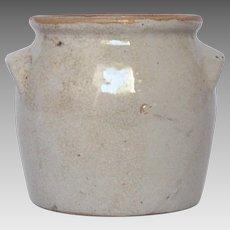 French Earthenware Food Crock / Stoneware Jar / Clay Pot