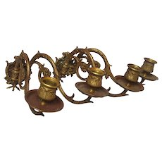 CLEARANCE SALE - Pair of Double Armed Ornate French Sconces