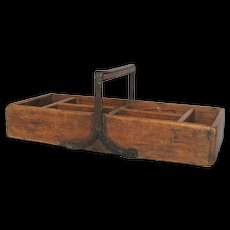 Wooden French Grafting Trug - Gardening Basket - Tool Tray