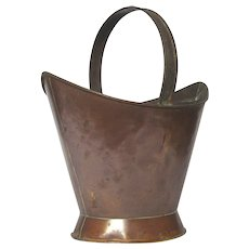 Early 1900s Copper Bucket - Pail - Pot from France