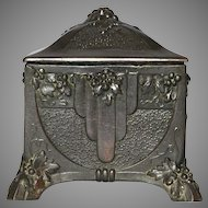 French Memento Holder / Trinket Box / Casket / Jewelry Box