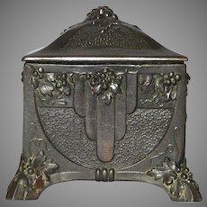 French Memento Holder / Trinket Box / Casket / Jewelry Box