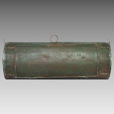 Vintage Vasculum Botanist's Collection Tin - Toleware Herb Container