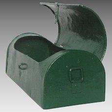 Vintage French Metal Tool Box