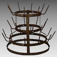 French Bottle Drying Rack - Herisson