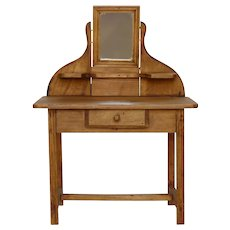 French Made Doll Vanity Table - Coiffeuse - Dressing Table