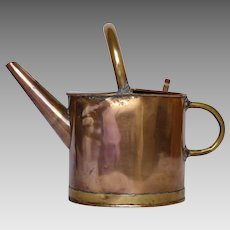 ON-SALE : French Copper Hot Water Pail - Watering Can - Watering Pail