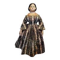 "Exceptional 24"" Papier Mache Milliner Doll"
