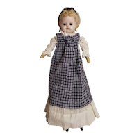 """16"""" Wax Over Paper Mache Doll Milliners Doll"""