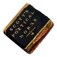 Miniature Doll Stack of Books, Scott's