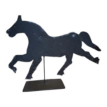 Folky Antique Metal Horse Weathervane