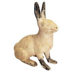Cast Iron Rabbit Garden Ornament