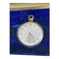 Hamilton Open Face 14 Karat Gold Antique Pocket Watch Gr 945 23 Jewel