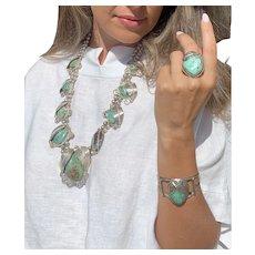 Native American turquoise set