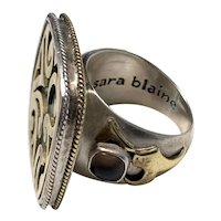 Sara Blaine Sterling Ring