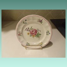 Vintage Spode Marlborough Sprays Bread and Butter Plate ENGLAND