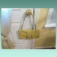 Vintage Light Mustard Coach  No. C043-9741