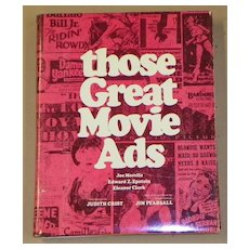 Book: Those Great Movie Ads - 1972 - 320pp.