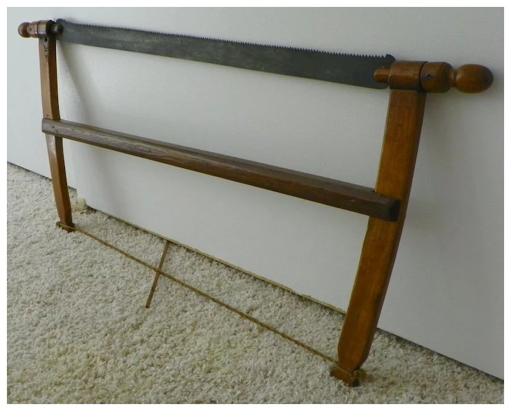 Sale Bow Saw Tool Furniture Making Vintage 1800s Wood